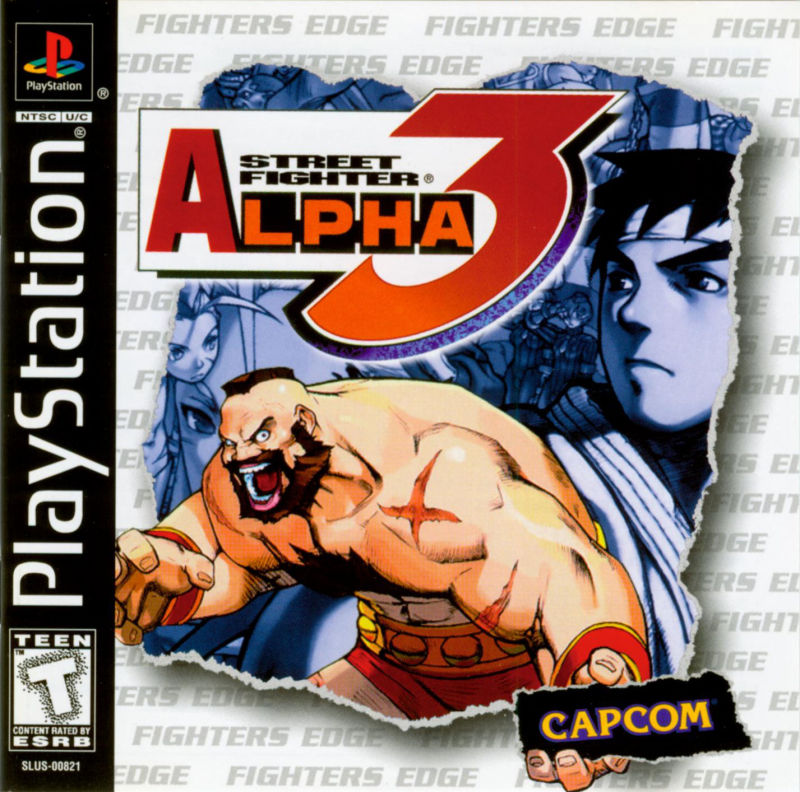 Street Fighter Alpha 3 - PlayStation 1 (PS1) Game