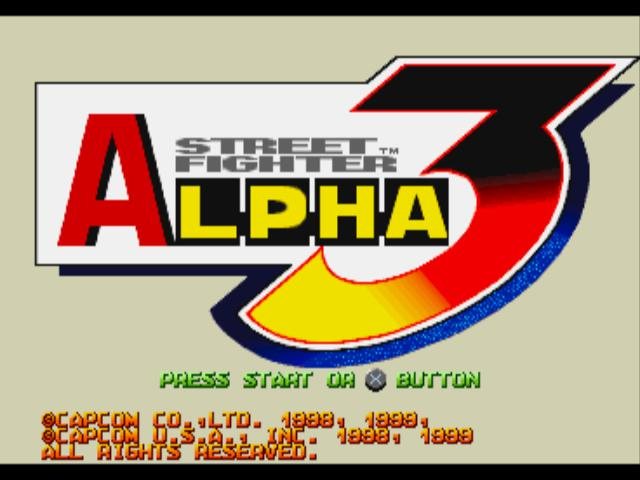 Street Fighter Alpha 3 - PlayStation 1 (PS1) Game - YourGamingShop.com - Buy, Sell, Trade Video Games Online. 120 Day Warranty. Satisfaction Guaranteed.