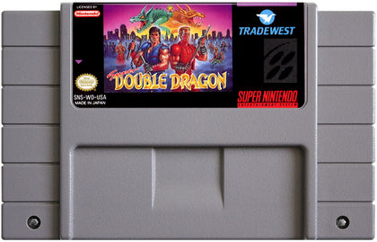Super Double Dragon - Authentic Super Nintendo (SNES) Game Cartridge