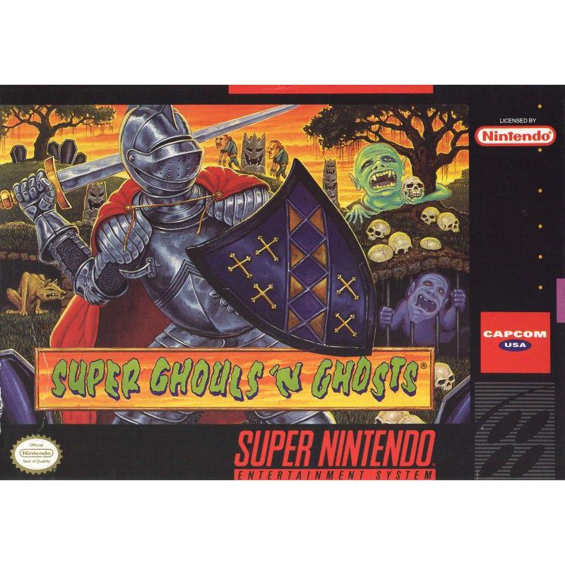 Super Ghouls 'n Ghosts - Super Nintendo (SNES) Game - YourGamingShop.com - Buy, Sell, Trade Video Games Online. 120 Day Warranty. Satisfaction Guaranteed.