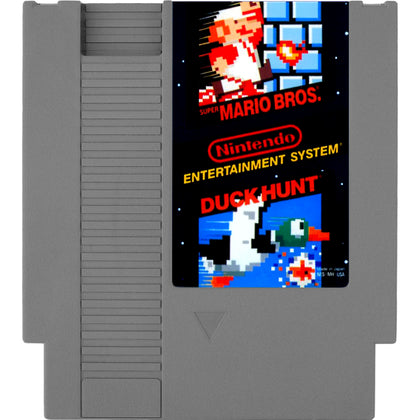 Super Mario Bros. / Duck Hunt - Authentic NES Game Cartridge - YourGamingShop.com - Buy, Sell, Trade Video Games Online. 120 Day Warranty. Satisfaction Guaranteed.