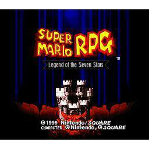 Super Mario RPG: Legend of the Seven Stars - Super Nintendo (SNES) Game Cartridge - YourGamingShop.com - Buy, Sell, Trade Video Games Online. 120 Day Warranty. Satisfaction Guaranteed.