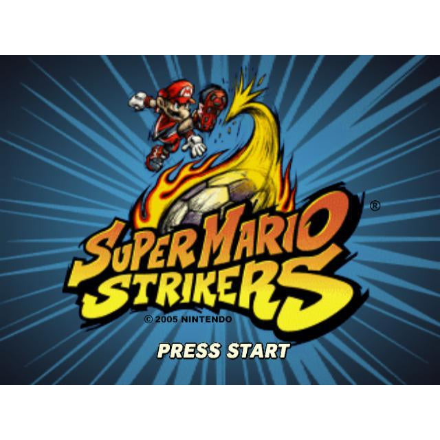 Super Mario Strikers - GameCube Game - YourGamingShop.com - Buy, Sell, Trade Video Games Online. 120 Day Warranty. Satisfaction Guaranteed.