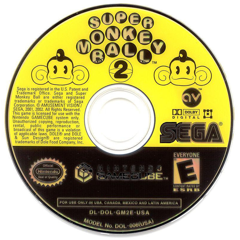 Super Monkey Ball 2 - GameCube Game - YourGamingShop.com - Buy, Sell, Trade Video Games Online. 120 Day Warranty. Satisfaction Guaranteed.