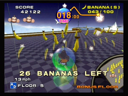 Super Monkey Ball (Player's Choice) - GameCube Game
