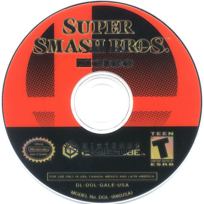 Super Smash Bros. Melee (Player's Choice) - GameCube Game Complete - YourGamingShop.com - Buy, Sell, Trade Video Games Online. 120 Day Warranty. Satisfaction Guaranteed.