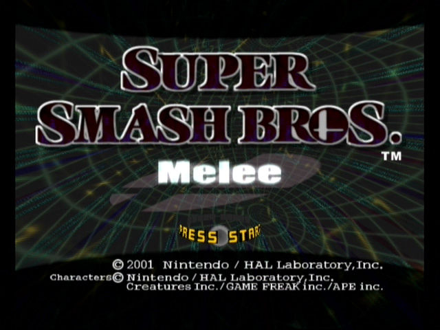 Super Smash Bros. Melee (Player's Choice) - GameCube Game