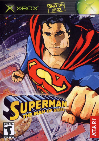 Superman: The Man of Steel - Microsoft Xbox Game