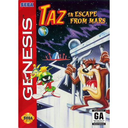 Taz in Escape From Mars - Sega Genesis Game
