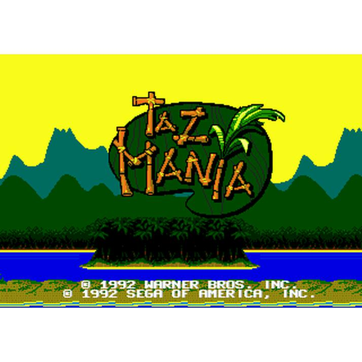 Taz-Mania - Sega Genesis Game Complete - YourGamingShop.com - Buy, Sell, Trade Video Games Online. 120 Day Warranty. Satisfaction Guaranteed.