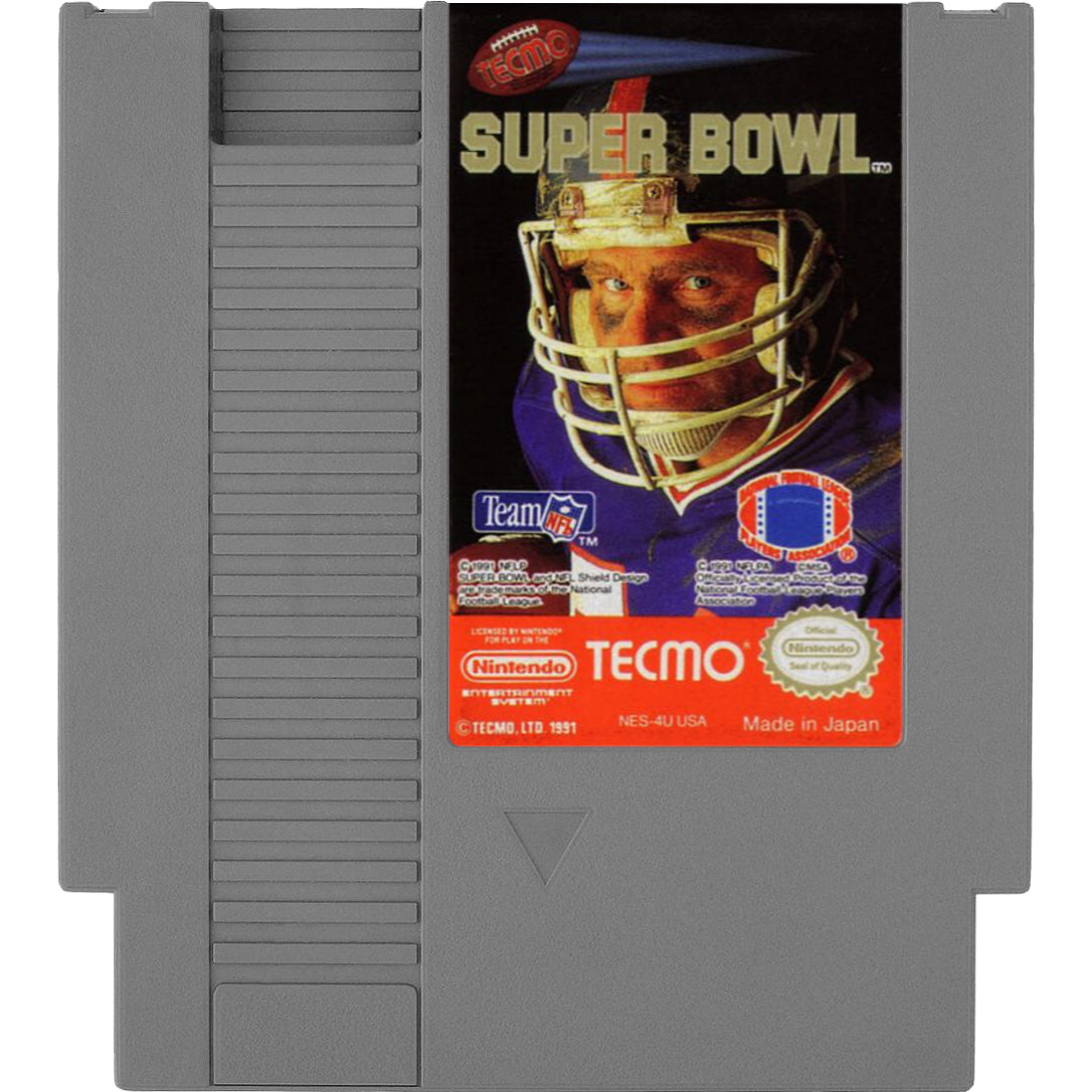 Tecmo Super Bowl - Authentic NES Game Cartridge - YourGamingShop.com - Buy, Sell, Trade Video Games Online. 120 Day Warranty. Satisfaction Guaranteed.