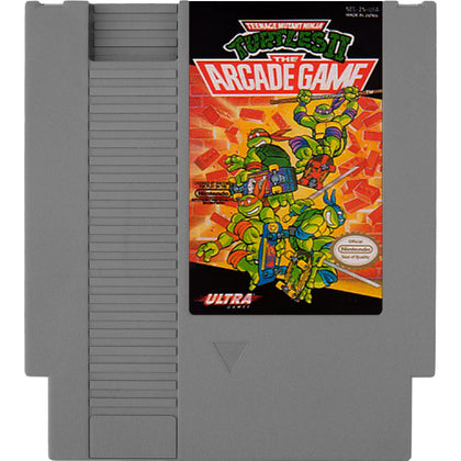 Teenage Mutant Ninja Turtles II: The Arcade Game - Authentic NES Game Cartridge - YourGamingShop.com - Buy, Sell, Trade Video Games Online. 120 Day Warranty. Satisfaction Guaranteed.