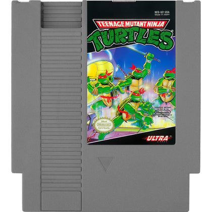 Teenage Mutant Ninja Turtles - Authentic NES Game Cartridge - YourGamingShop.com - Buy, Sell, Trade Video Games Online. 120 Day Warranty. Satisfaction Guaranteed.