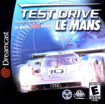 Test Drive Le Mans - Sega Dreamcast Game