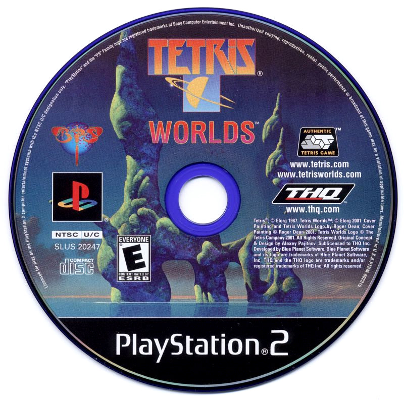 Tetris Worlds - PlayStation 2 (PS2) Game Complete - YourGamingShop.com - Buy, Sell, Trade Video Games Online. 120 Day Warranty. Satisfaction Guaranteed.