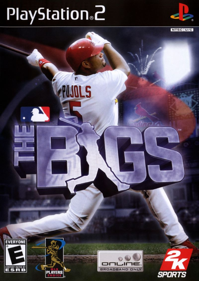 The Bigs - PlayStation 2 (PS2) Game