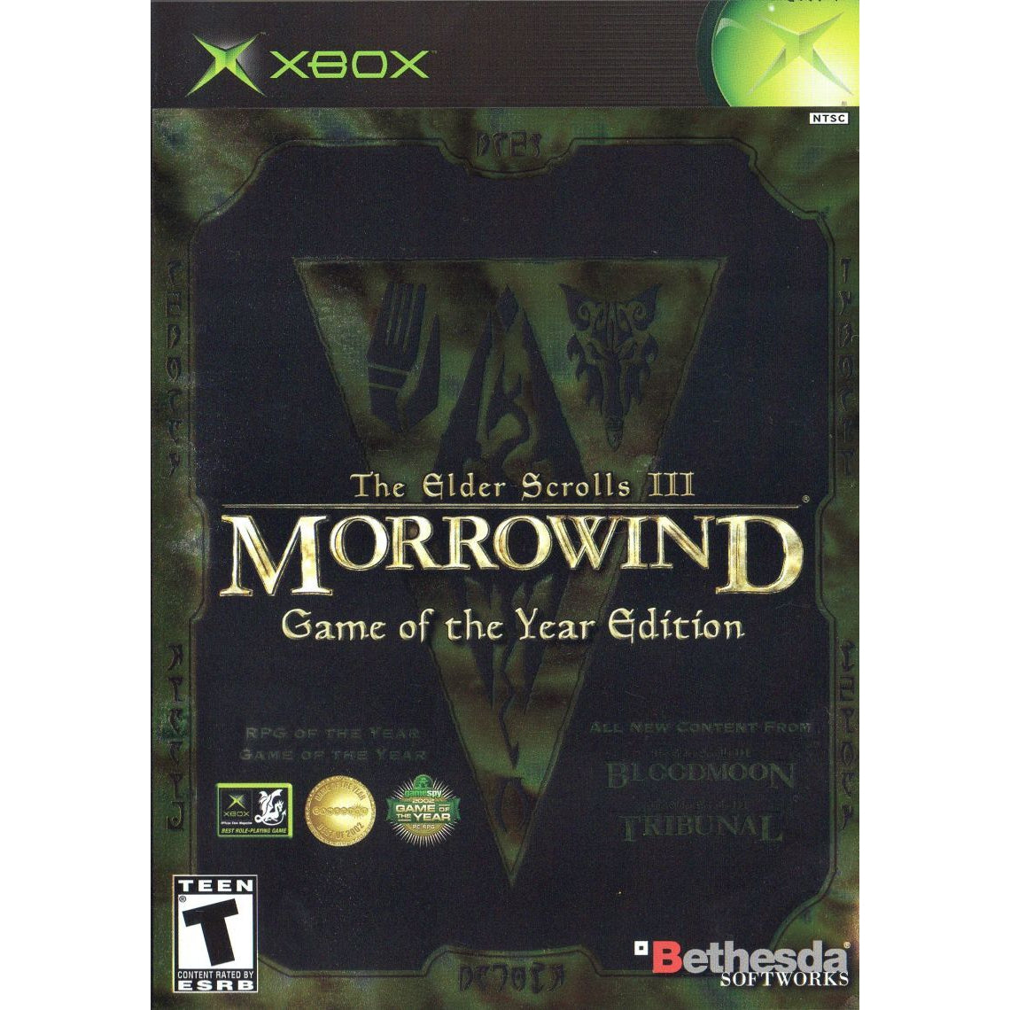 The Elder Scrolls III: Morrowind (Game of the Year Edition) - Microsoft Xbox Game Complete - YourGamingShop.com - Buy, Sell, Trade Video Games Online. 120 Day Warranty. Satisfaction Guaranteed.