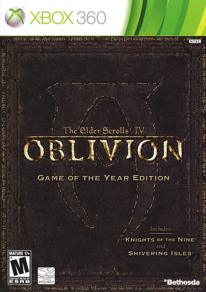 The Elder Scrolls IV: Oblivion: Game of the Year Edition - Microsoft Xbox 360 Game
