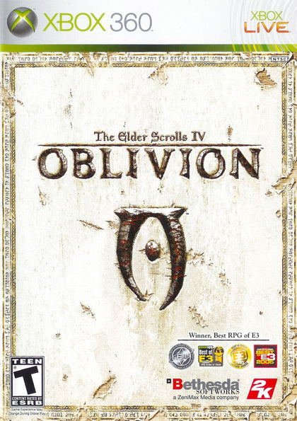 The Elder Scrolls IV: Oblivion - Microsoft Xbox 360 Game
