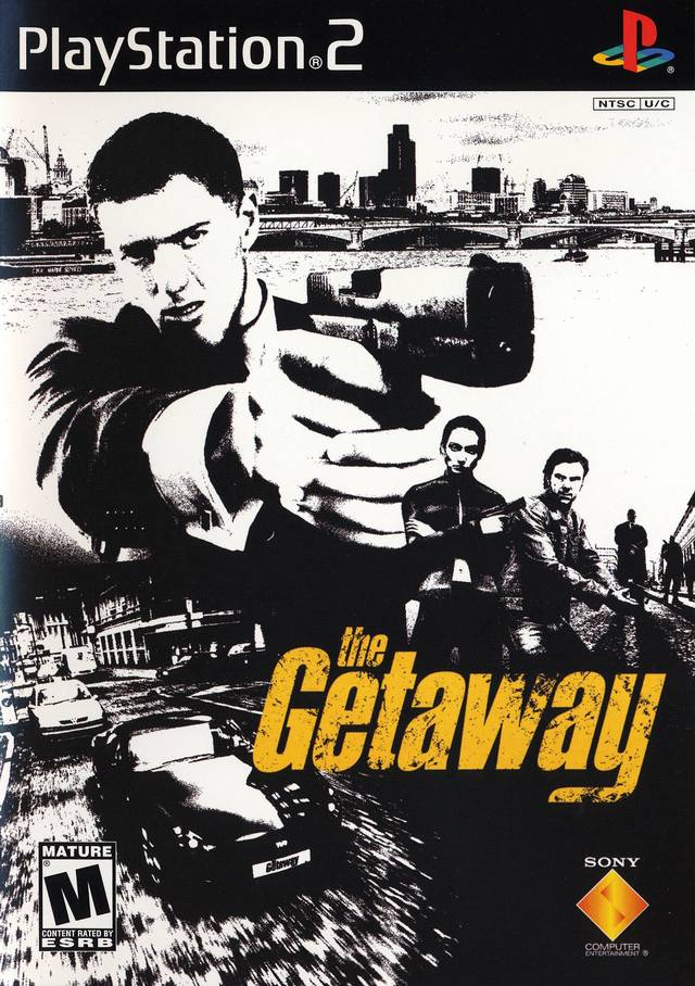 The Getaway - PlayStation 2 (PS2) Game Complete - YourGamingShop.com - Buy, Sell, Trade Video Games Online. 120 Day Warranty. Satisfaction Guaranteed.