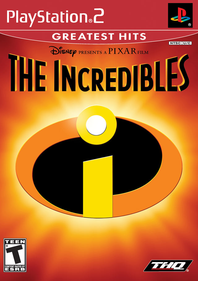 The Incredibles (Greatest Hits) - PlayStation 2 (PS2) Game
