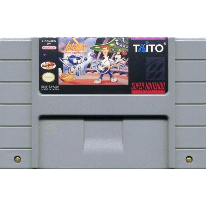 The Jetsons: Invasion of the Planet Pirates - Super Nintendo (SNES) Game Cartridge - YourGamingShop.com - Buy, Sell, Trade Video Games Online. 120 Day Warranty. Satisfaction Guaranteed.
