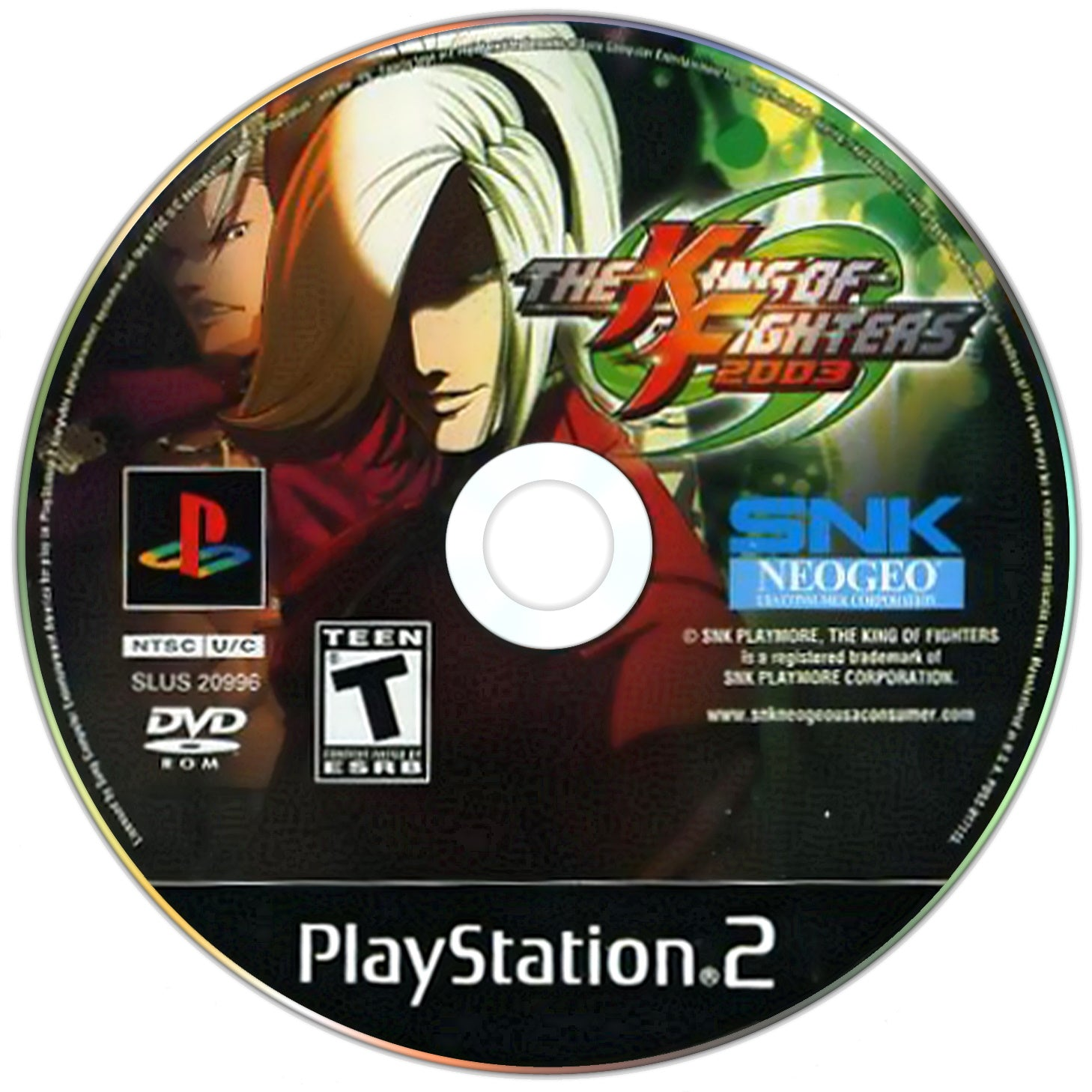 The King of Fighters 2002 & 2003 - PlayStation 2 (PS2) Game