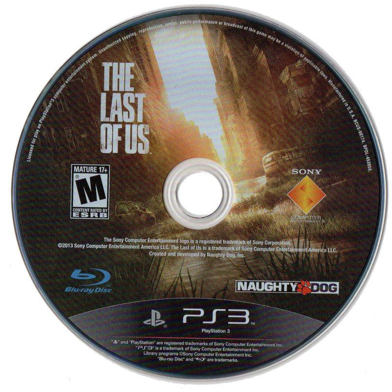 The Last Of Us - PlayStation 3 (PS3) Game - YourGamingShop.com - Buy, Sell, Trade Video Games Online. 120 Day Warranty. Satisfaction Guaranteed.
