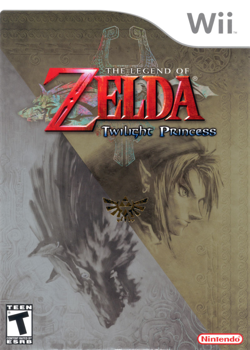 The Legend of Zelda: Twilight Princess - Wii Game