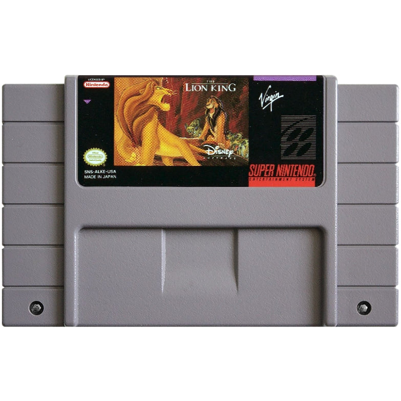 The Lion King - Super Nintendo (SNES) Game Cartridge - YourGamingShop.com - Buy, Sell, Trade Video Games Online. 120 Day Warranty. Satisfaction Guaranteed.