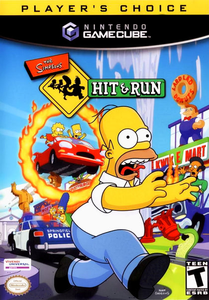 The Simpsons: Hit & Run (Player's Choice) - Nintendo GameCube Game