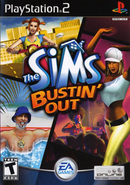 The Sims: Bustin' Out - PlayStation 2 (PS2) Game