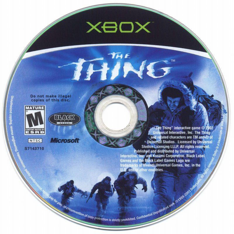 The Thing - Microsoft Xbox Game Complete - YourGamingShop.com - Buy, Sell, Trade Video Games Online. 120 Day Warranty. Satisfaction Guaranteed.