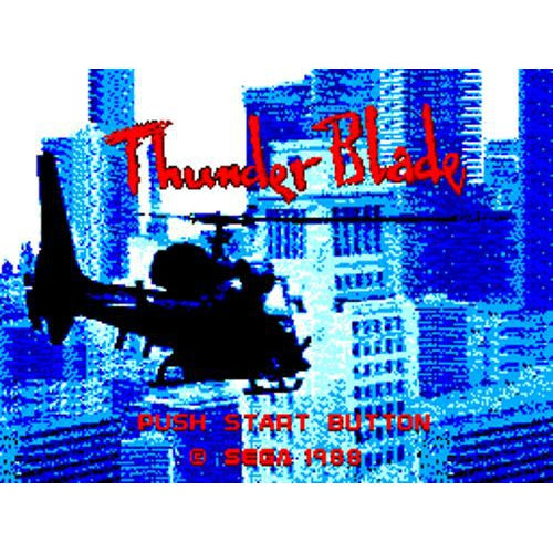 Thunder Blade - Sega Master System Game Complete - YourGamingShop.com - Buy, Sell, Trade Video Games Online. 120 Day Warranty. Satisfaction Guaranteed.