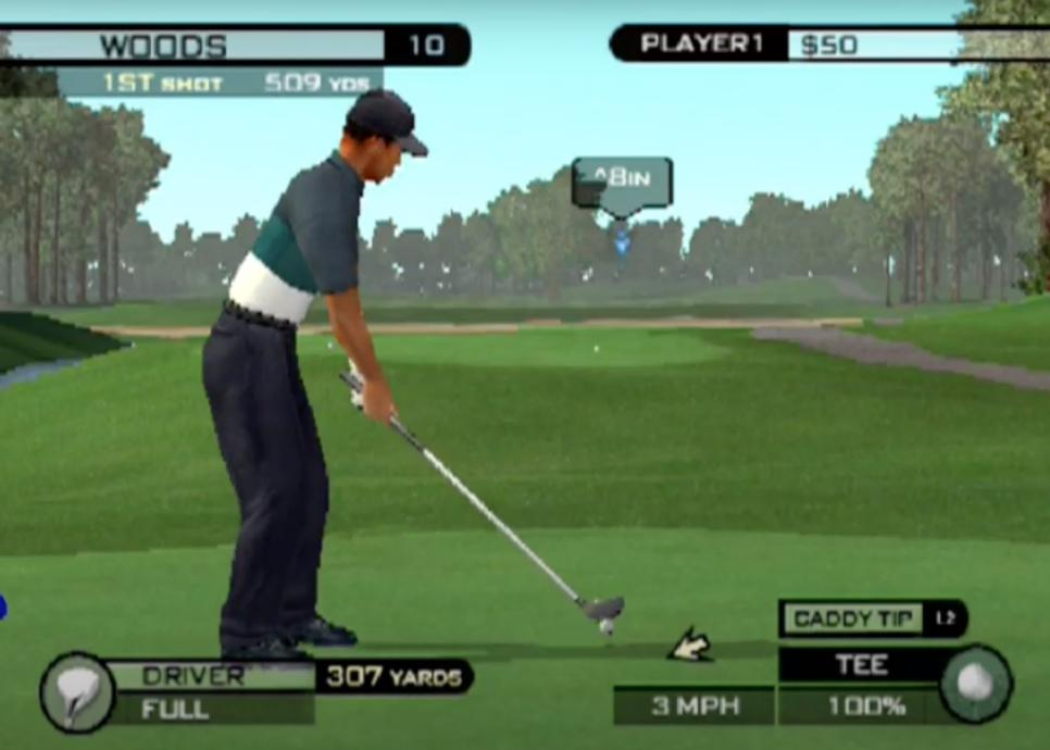 Tiger Woods PGA Tour 2002 - PlayStation 2 (PS2) Game