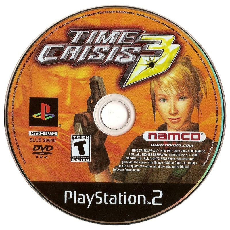Time Crisis 3 - PlayStation 2 (PS2) Game Complete - YourGamingShop.com - Buy, Sell, Trade Video Games Online. 120 Day Warranty. Satisfaction Guaranteed.