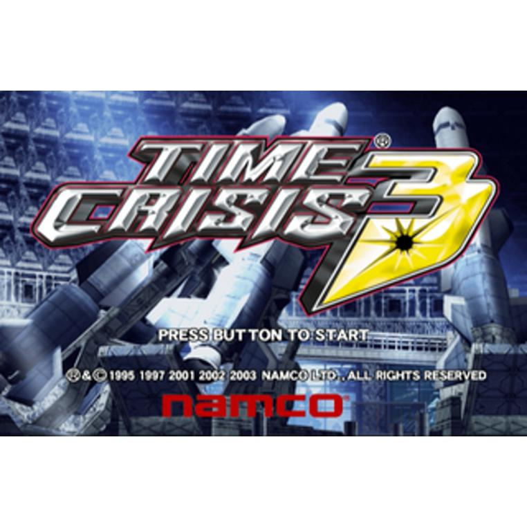 Time Crisis 3 - PlayStation 2 (PS2) Game