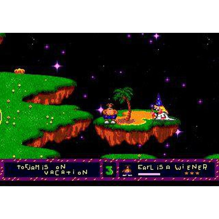 ToeJam & Earl - Sega Genesis Game Complete - YourGamingShop.com - Buy, Sell, Trade Video Games Online. 120 Day Warranty. Satisfaction Guaranteed.
