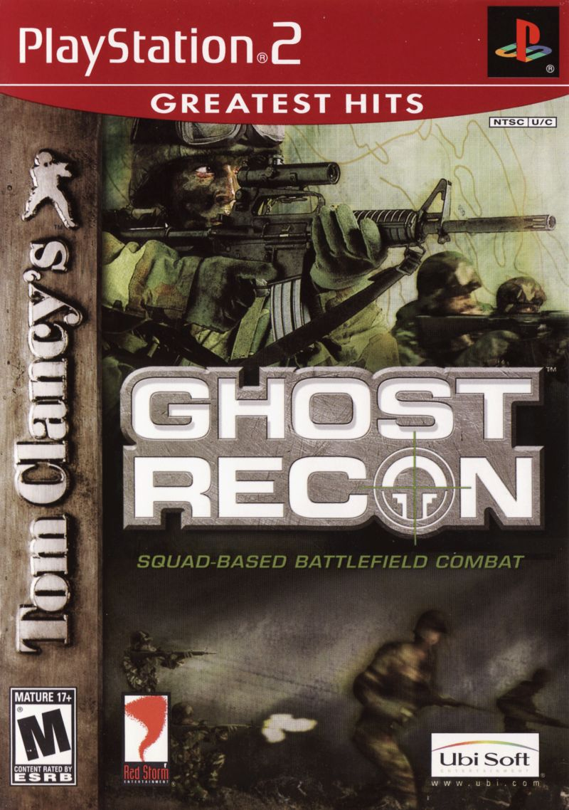 Tom Clancy's Ghost Recon Greatest Hits - PlayStation 2 (PS2) Game