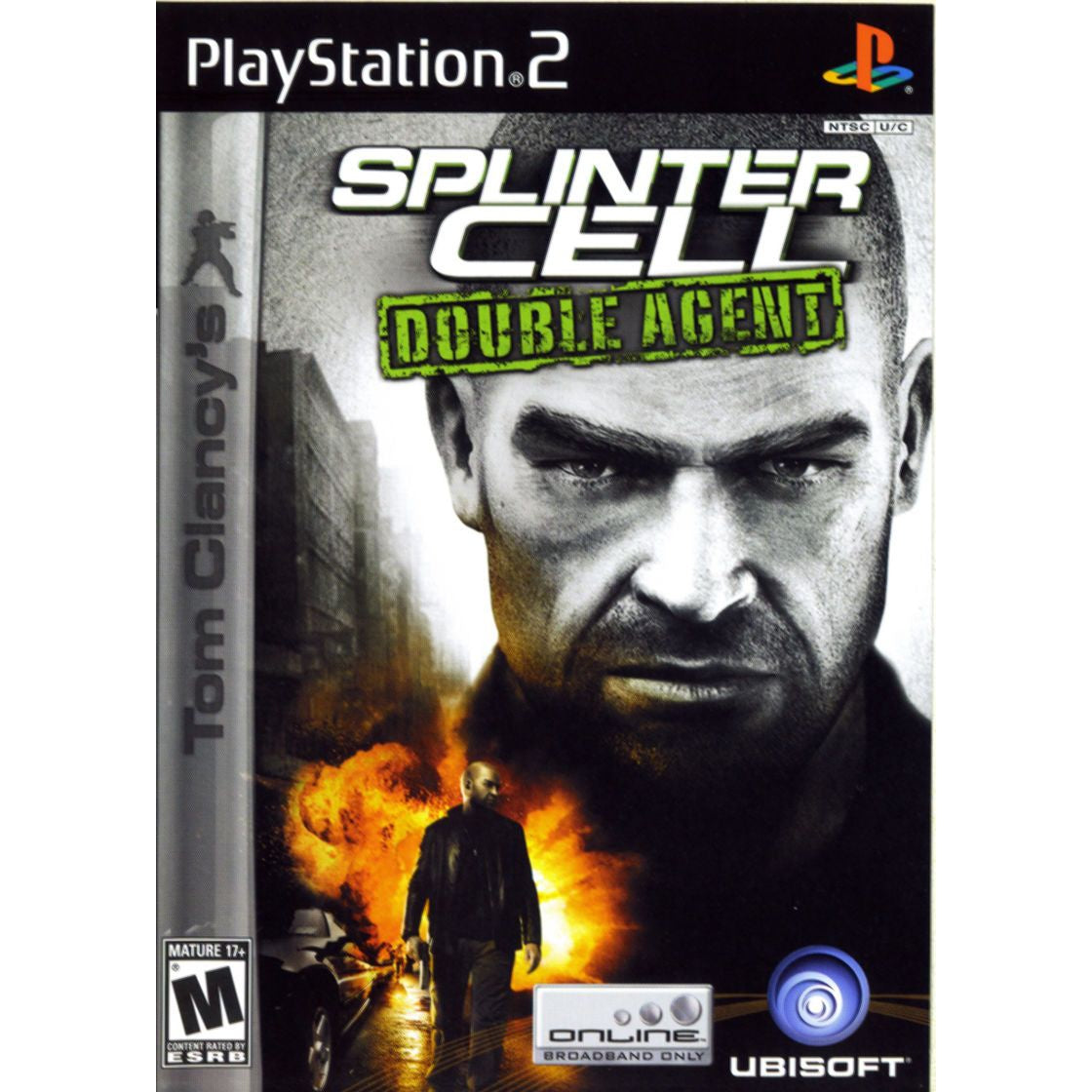 Tom Clancy's Splinter Cell: Double Agent - PlayStation 2 (PS2) Game Complete - YourGamingShop.com - Buy, Sell, Trade Video Games Online. 120 Day Warranty. Satisfaction Guaranteed.