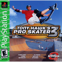 Tony Hawk's Pro Skater 3 (Greatest Hits) - PlayStation 1 (PS1) Game