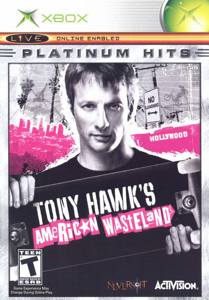Tony Hawk's American Wasteland (Platinum Hits) - Microsoft Xbox Game