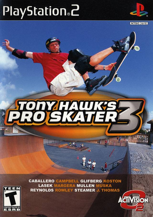 Tony Hawk's Pro Skater 3 - PlayStation 2 (PS2) Game