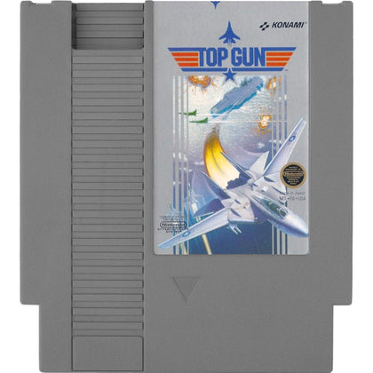 Top Gun - Authentic NES Game Cartridge