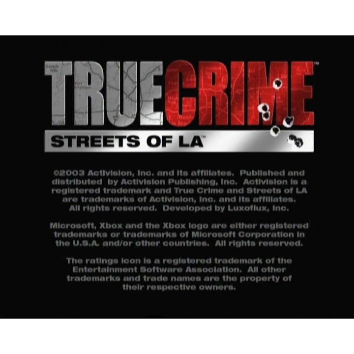 True Crime: Streets of LA - Microsoft Xbox Game Complete - YourGamingShop.com - Buy, Sell, Trade Video Games Online. 120 Day Warranty. Satisfaction Guaranteed.