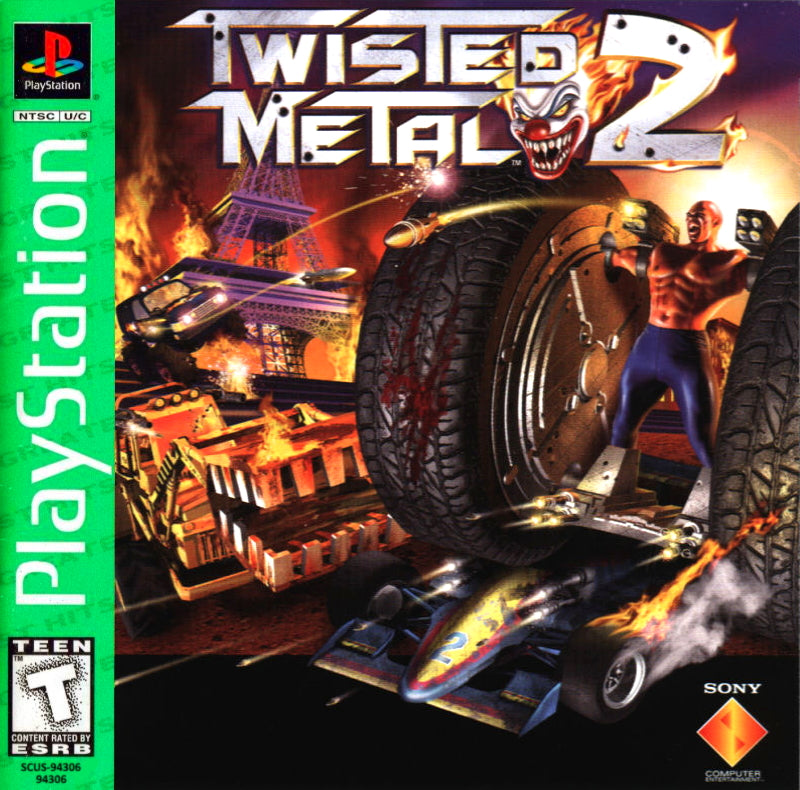 Twisted Metal 2 (Greatest Hits) - PlayStation 1 (PS1) Game