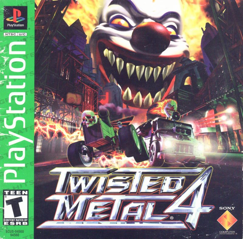 Twisted Metal 4 (Greatest Hits) - PlayStation 1 (PS1) Game