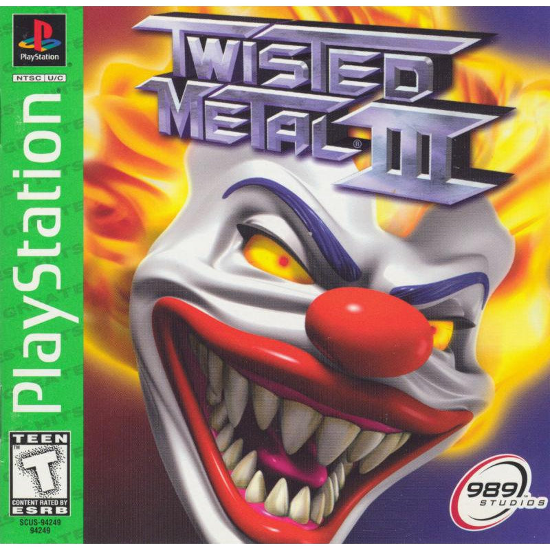 Twisted Metal 3 (Greatest Hits) - PlayStation 1 (PS1) Game - YourGamingShop.com - Buy, Sell, Trade Video Games Online. 120 Day Warranty. Satisfaction Guaranteed.