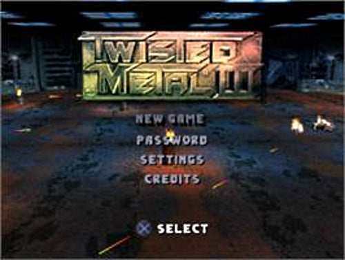 Twisted Metal III (Greatest Hits) - PlayStation 1 (PS1) Game