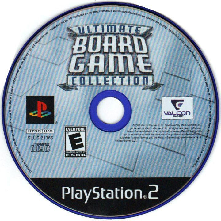 Ultimate Board Game Collection - PlayStation 2 (PS2) Game Complete - YourGamingShop.com - Buy, Sell, Trade Video Games Online. 120 Day Warranty. Satisfaction Guaranteed.